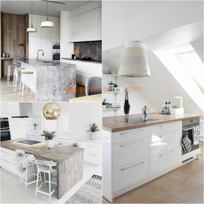 Kitchen Island Design. Scandinavian Kitchen Island