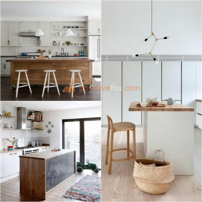 Kitchen Island Design. Scandinavian Kitchen Island