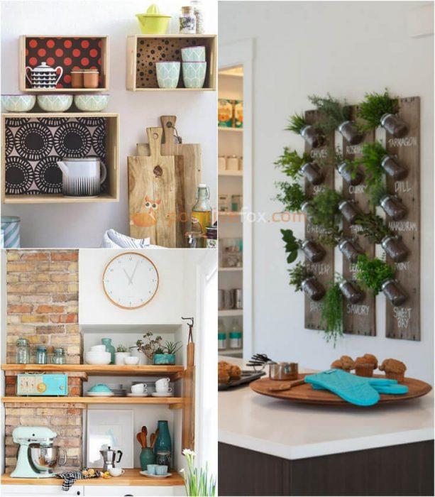 Kitchen Shelf Decor. Kitchen Decor and Kitchen Wall Ideas