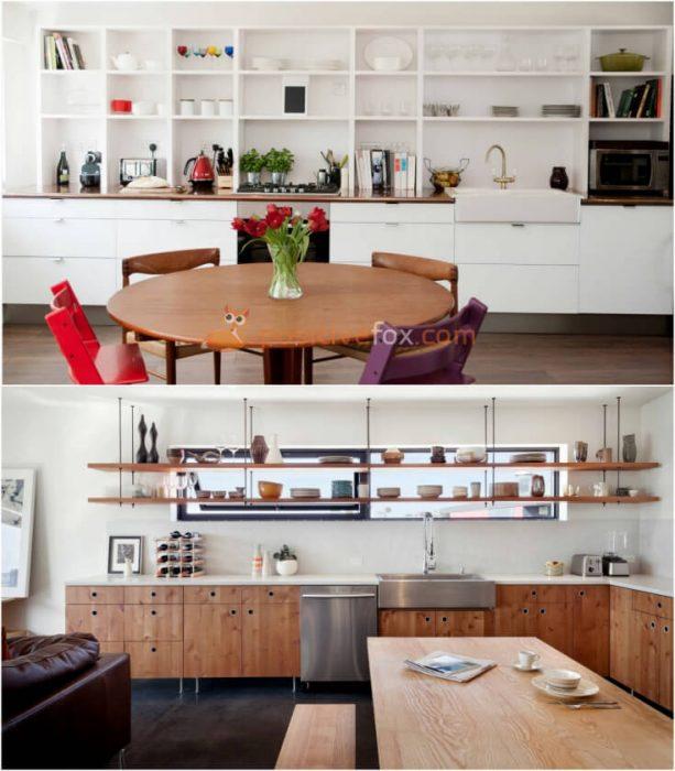 Wall Shelves Decorating Ideas Kitchen: 50+ Kitchen Wall Decor Ideas