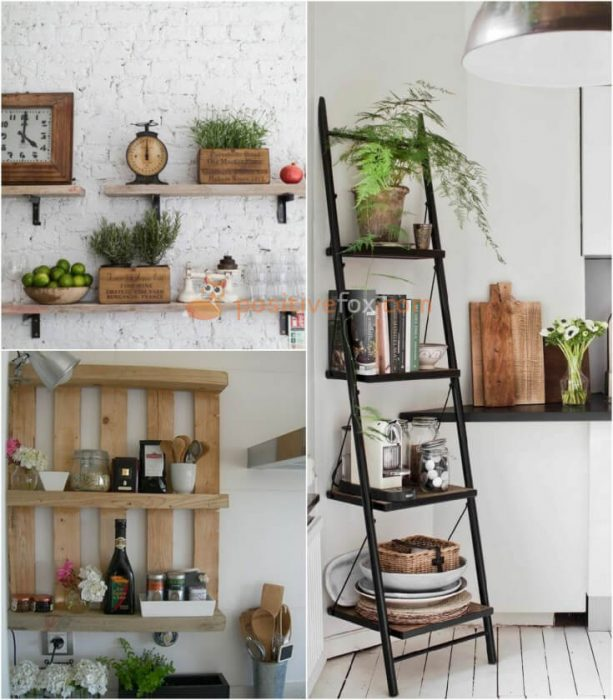 Kitchen Shelf Decor. Kitchen Decor and Kitchen Wall Ideas