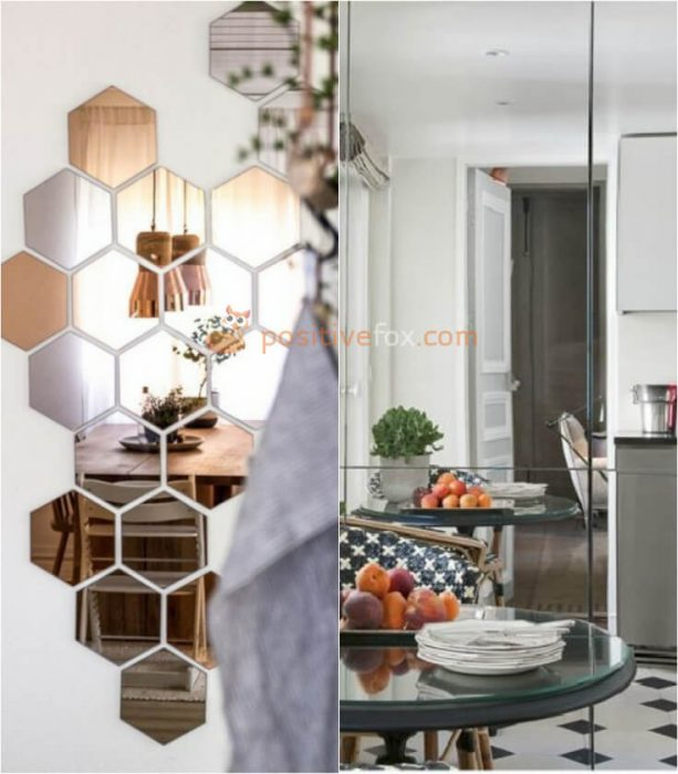 Mirrors in Kitchen. Kitchen Wall Decor and Kitchen Wall Ideas