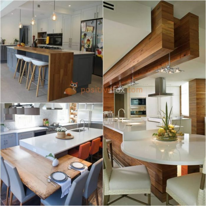 Multi Level Kitchen Island. Kitchen Island Ideas