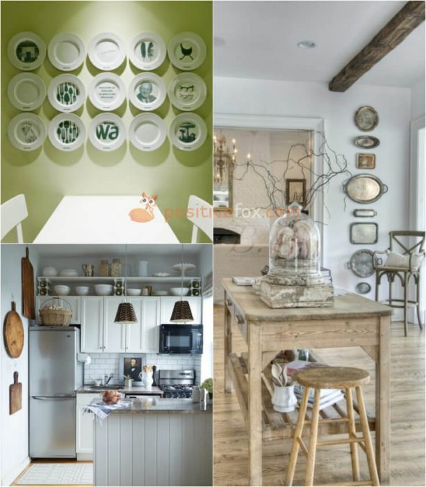 Plate Wall Decor. Kitchen Wall Decor. Kitchen Wall Ideas