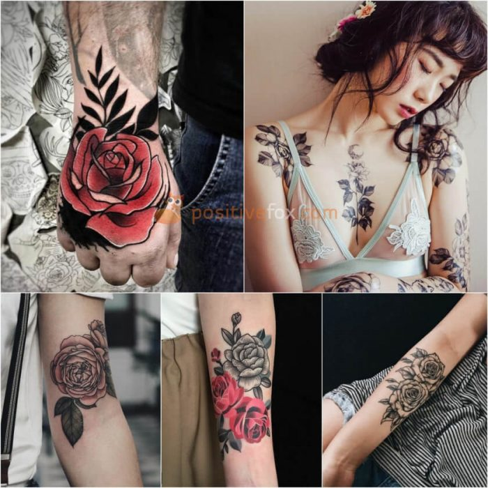 Rose Tattoos. Rose Tattoo Ideas