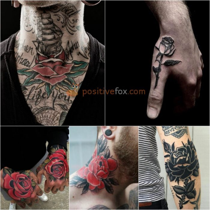 Rose Tattoos. Rose Tattoo Ideas. Rose Tattoos for Men