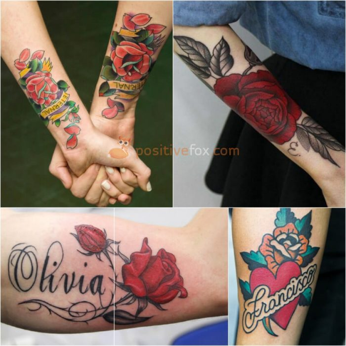 Rose Tattoos. Rose Tattoo Ideas. Rose without Thorns Tattoo