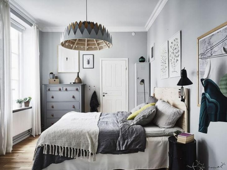 Scandinavian Bedroom Design Interior
