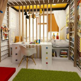 Small Kids Room - Small Children Bedroom Ideas