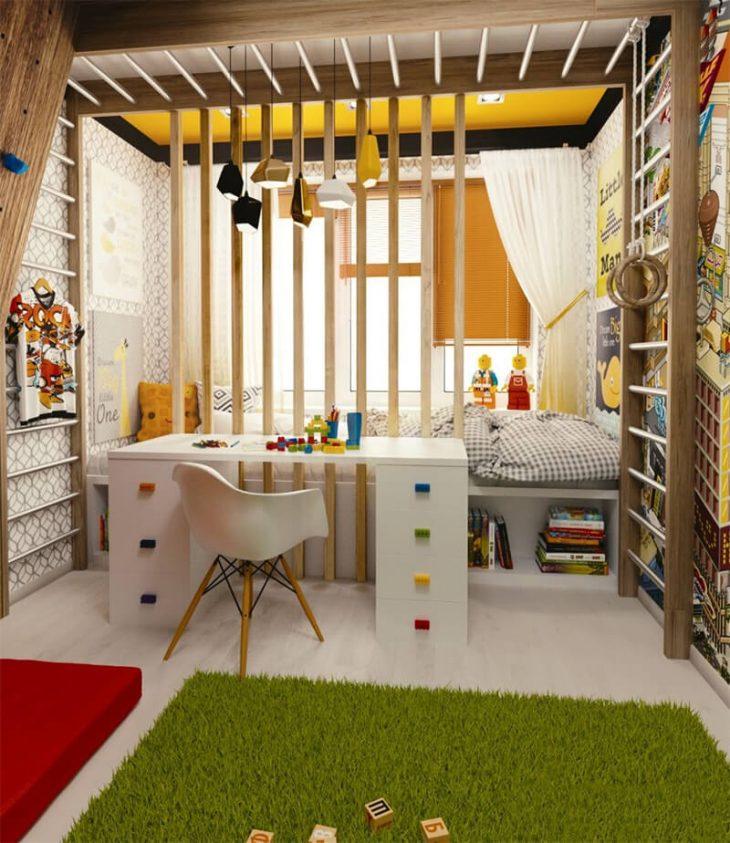 Small Kids Room - Small Children Bedroom Ideas