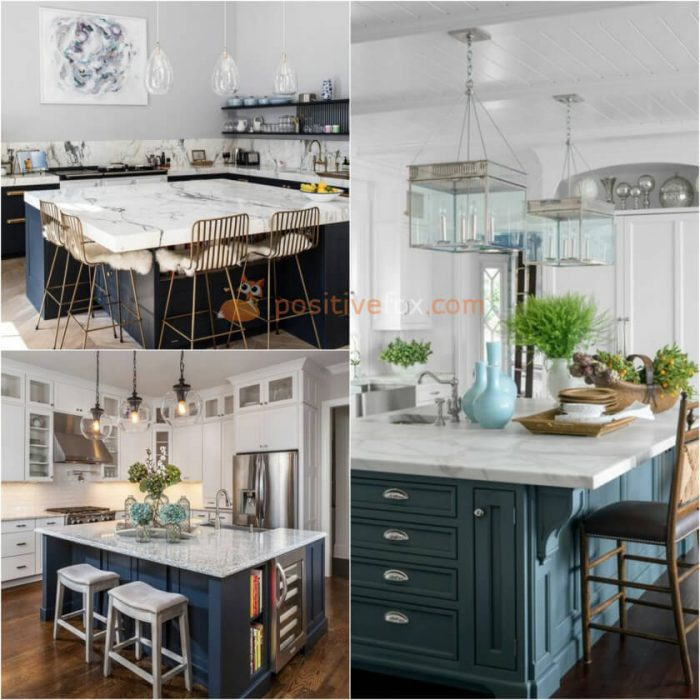 Square Kitchen Island. Kitchen Island Ideas