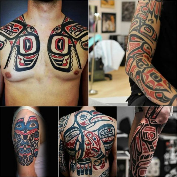 Tribal Tattoos. Tribal Tattoo Designs. Haida Tattoo