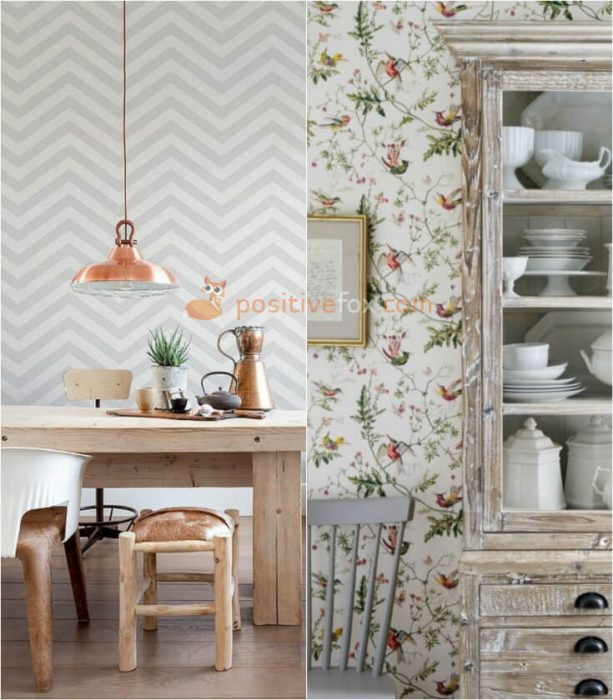 Wallpaper for Kitchen Wall. Kitchen Decor and Kitchen Wall Ideas