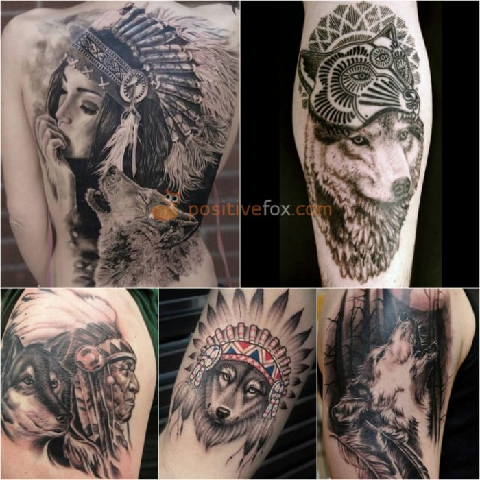 Wolf Tattoo. Wolf Tattoo Designs. Wolf Feather Tattoo