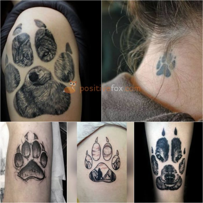 Wolf Tattoo. Wolf Tattoo Designs. Wolf Paw Tattoo