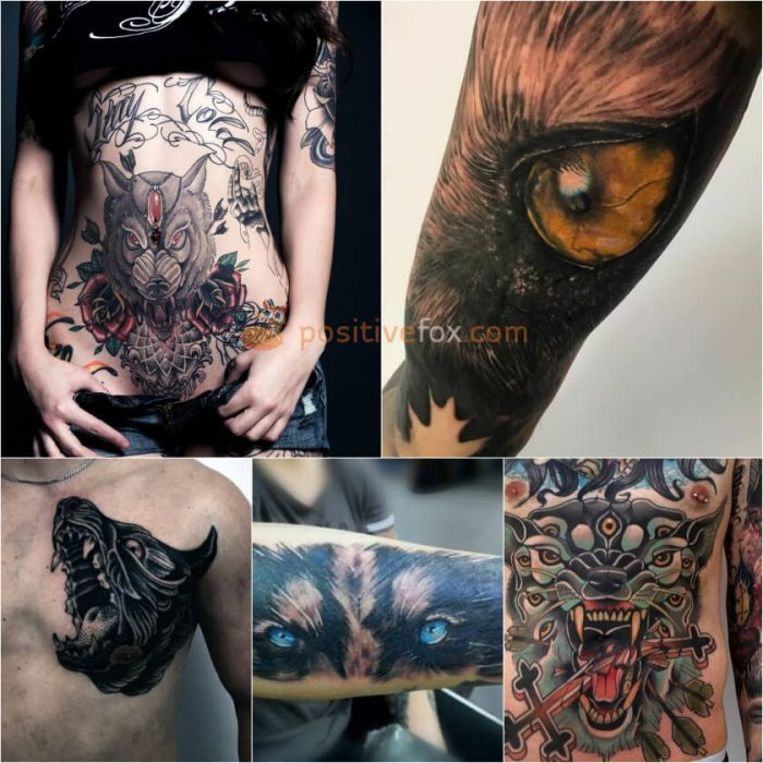 Wolf Tattoo. Wolf Tattoo Designs. Wolf Tattoo Ideas