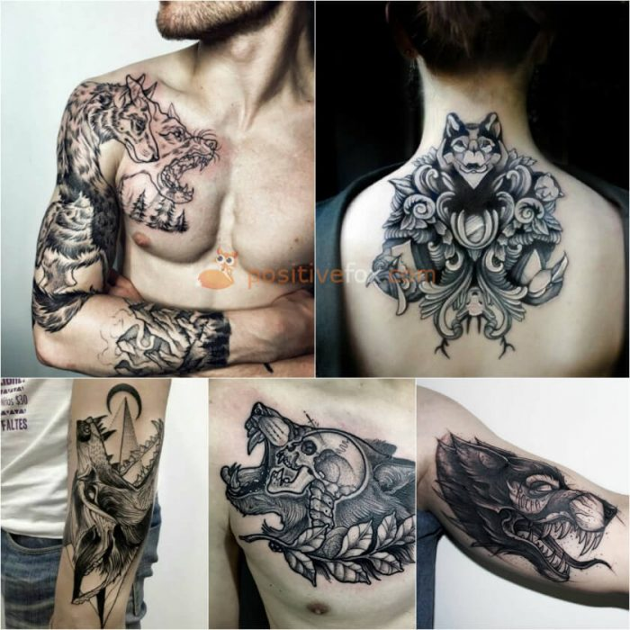 Wolf Tattoo. Wolf Tattoo Designs. Wolf Tattoo Meaning