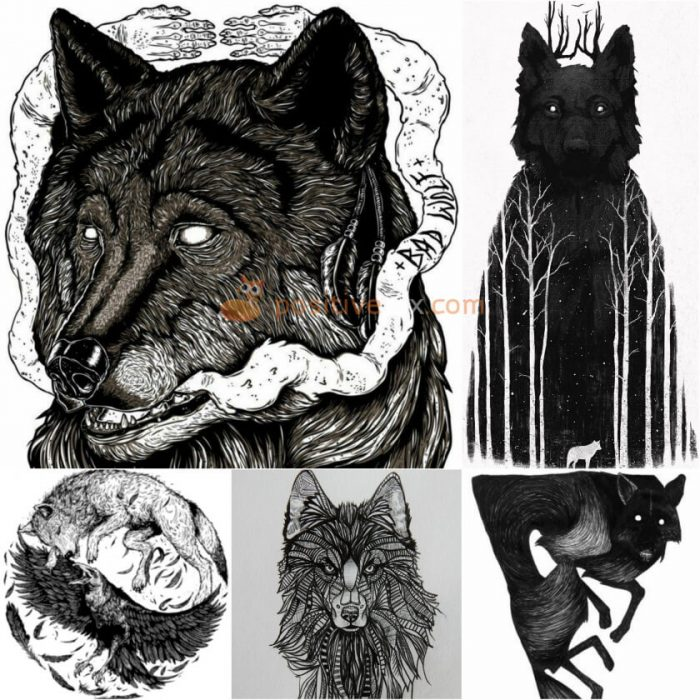 Wolf Tattoo. Wolf Tattoo Designs. Wolf Tattoo Sketch
