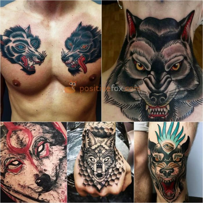 Wolf Tattoo. Wolf Tattoo Designs. Wolf Tattoo for Men