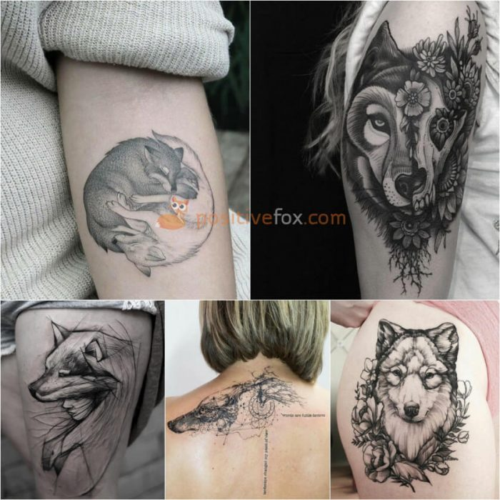 Tattoo Woman In Wolf: Best 100+ Wolf Tattoo Ideas
