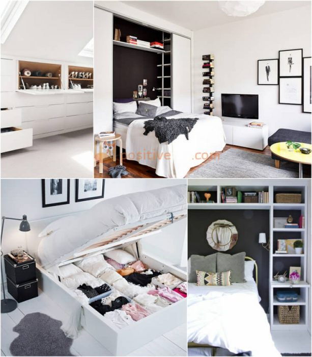 Bedroom Storage Ideas. Home Storage Ideas