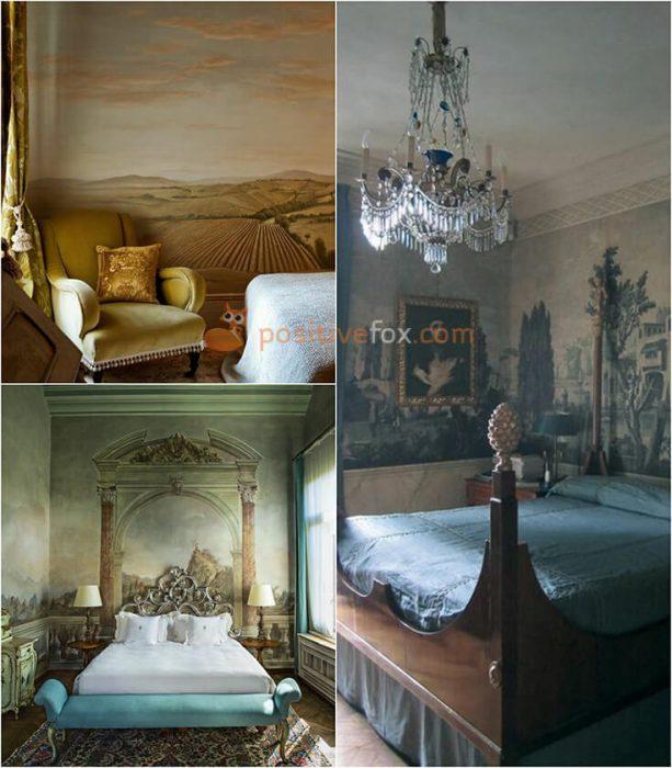 Classic Bedroom Walls. Classic Bedroom Design Ideas