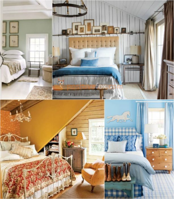 country colors for bedrooms 50 country bedroom ideas country amp rustic bedroom 15033