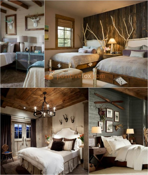 Country Bedroom Decor. Rustic Bedroom. Country Interior Design