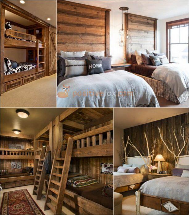 Country Bedroom Ideas. Rustic Bedroom. Country Interior Design