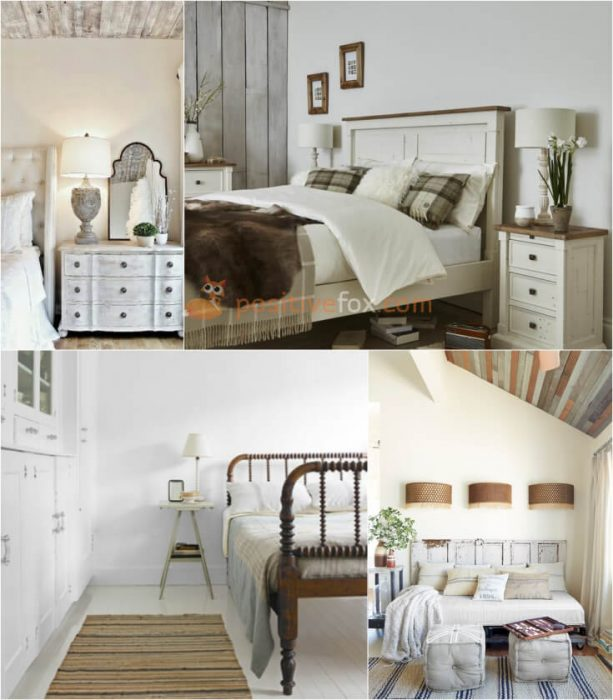 Country Bedroom Wall Decor. Rustic Bedroom. Country Interior Design