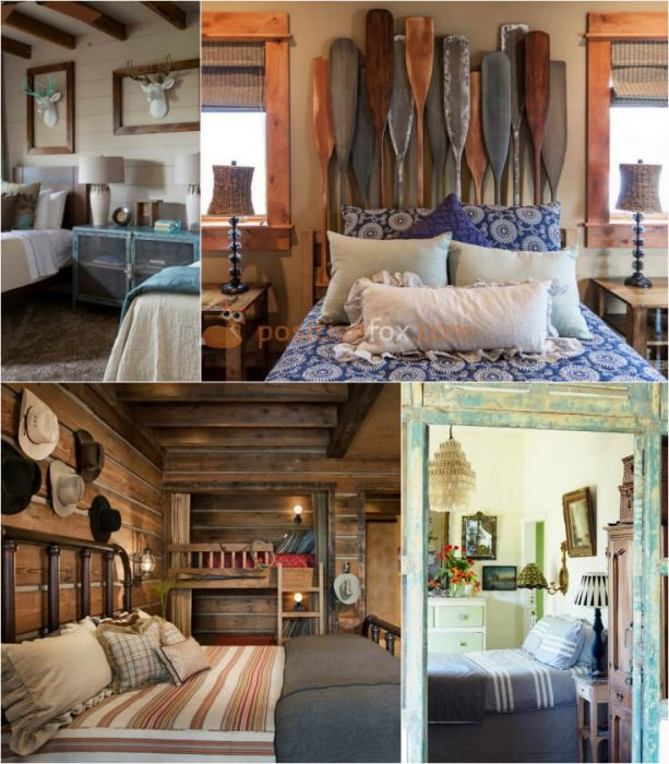 Country & Rustic Bedroom