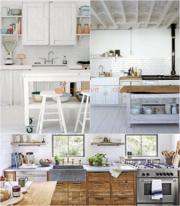 Country White Kitchen. White Kitchen Ideas. Kitchen Interior Design
