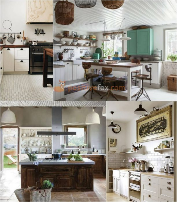 Country White Kitchen. White Kitchen Ideas.