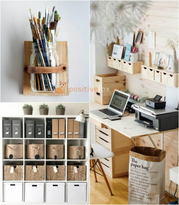 Desk Storage Ideas. Home Storage Ideas