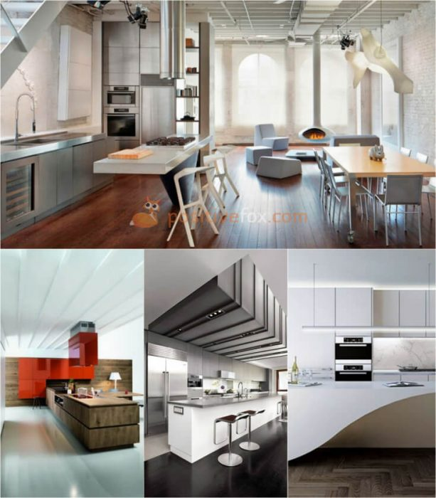High Tech Kitchen Ideas. Kitchen Interior Design