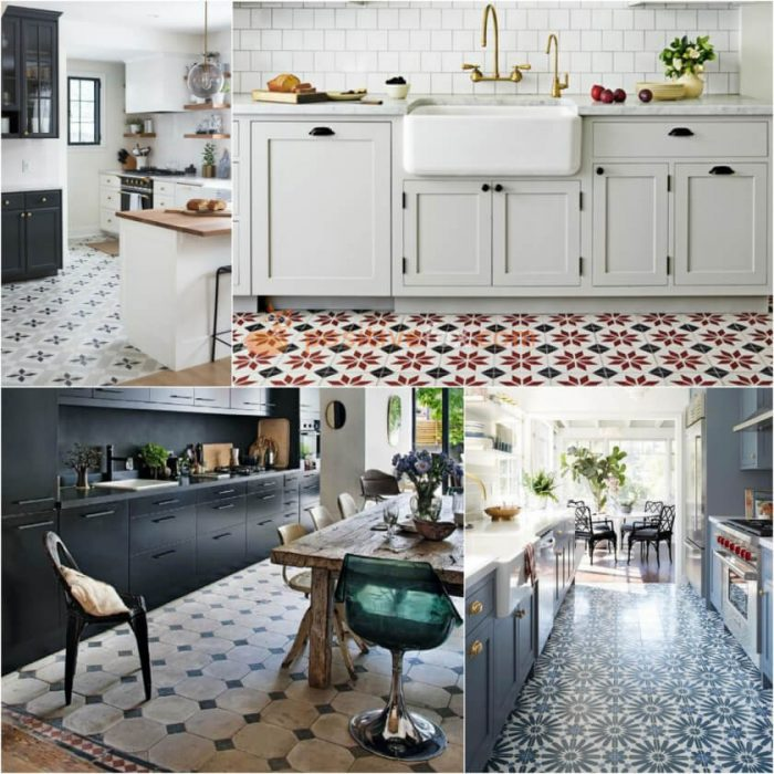 Kitchen Flooring. Kitchen Interior Design Ideas