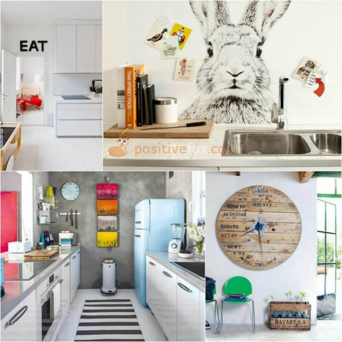 Kitchen Wall Decor. Kitchen Interior Design Ideas ...