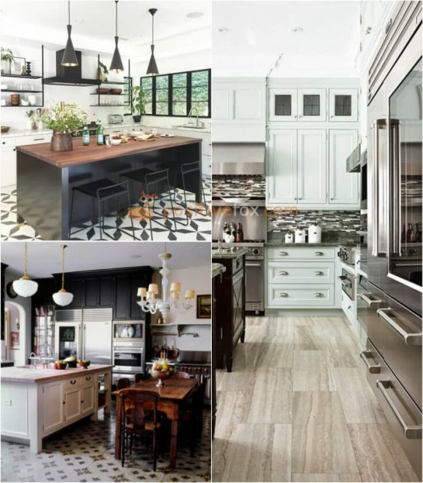 Linoleum Kitchen Flooring. Kitchen Flooring Ideas