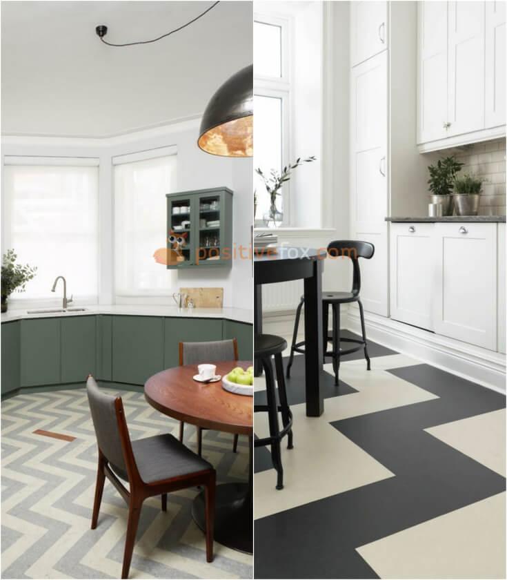 Linoleum Kitchen Flooring. Kitchen Flooring Ideas