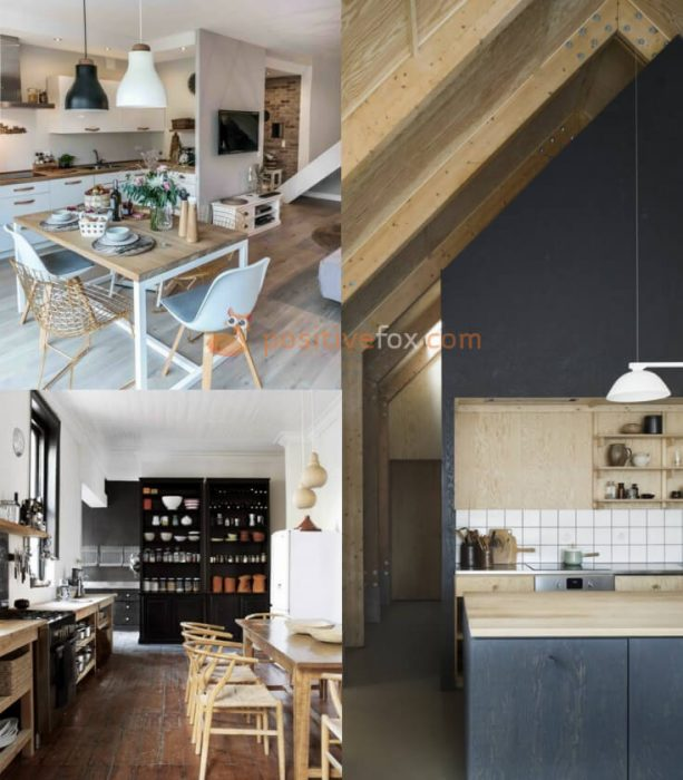 Scandinavian Kitchen Ideas. Kitchen Interior Design
