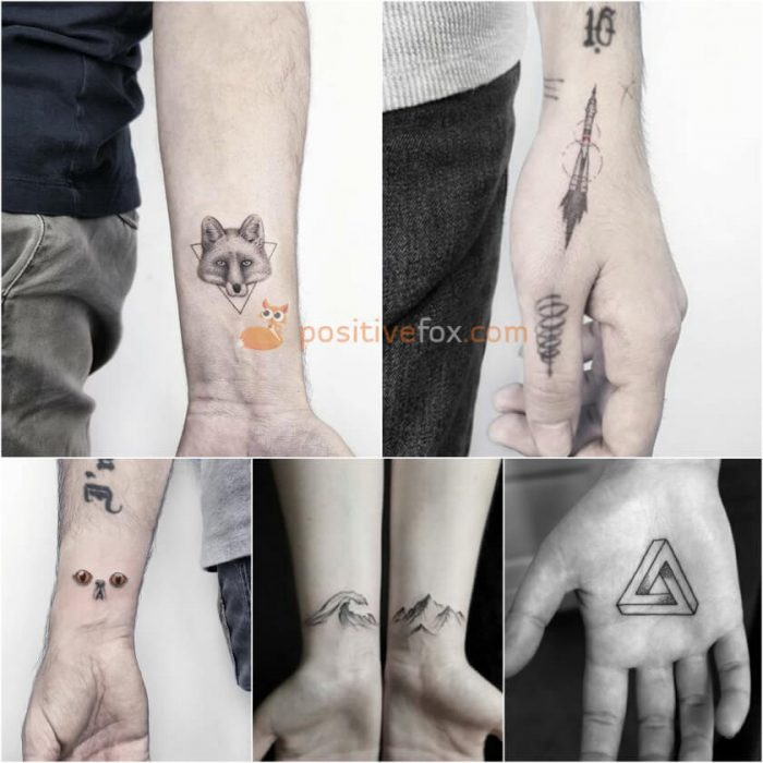 Small Tattoo Ideas for Men. Small Tattoos Ideas