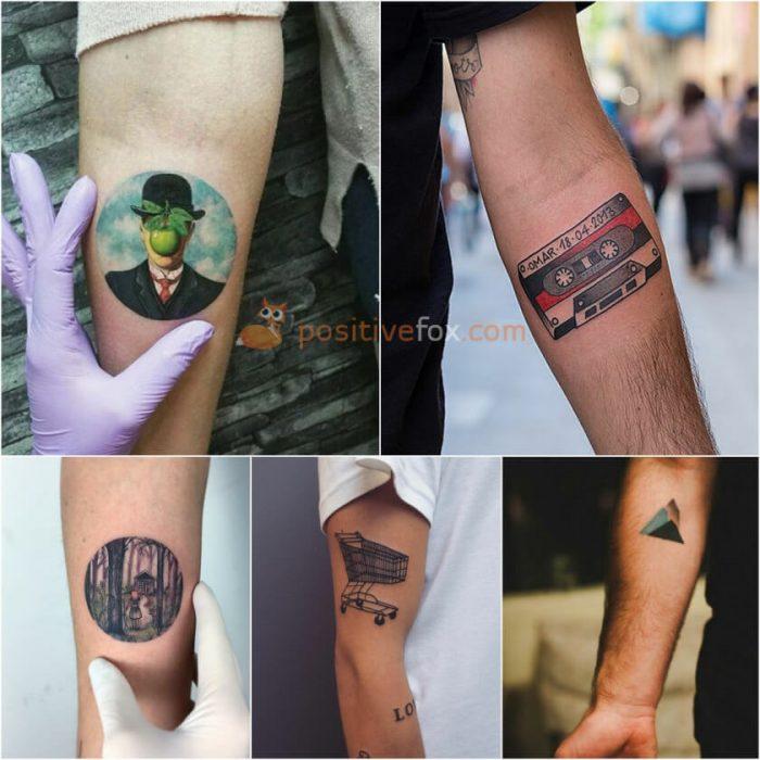 Small Tattoo Ideas for Men. Small Tattoos Ideas
