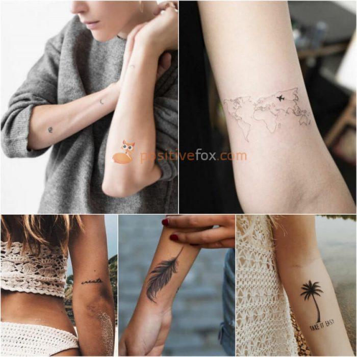 Small Tattoos for Girls. Small Tattoos Ideas