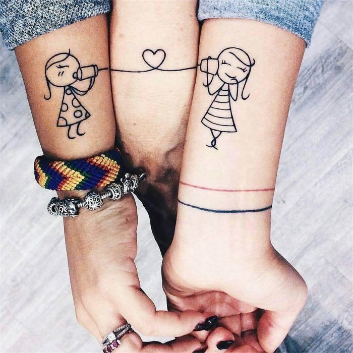 3 Friends Tattoo - Images for Tatouage