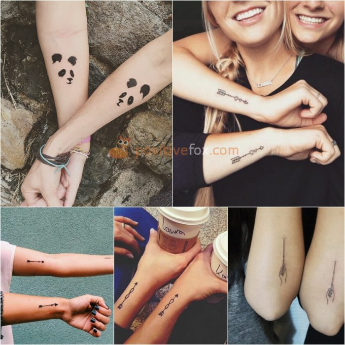Best Friends Tattoos. Best Friend Tattoo Ideas. Matching Tattoos for Best Friends