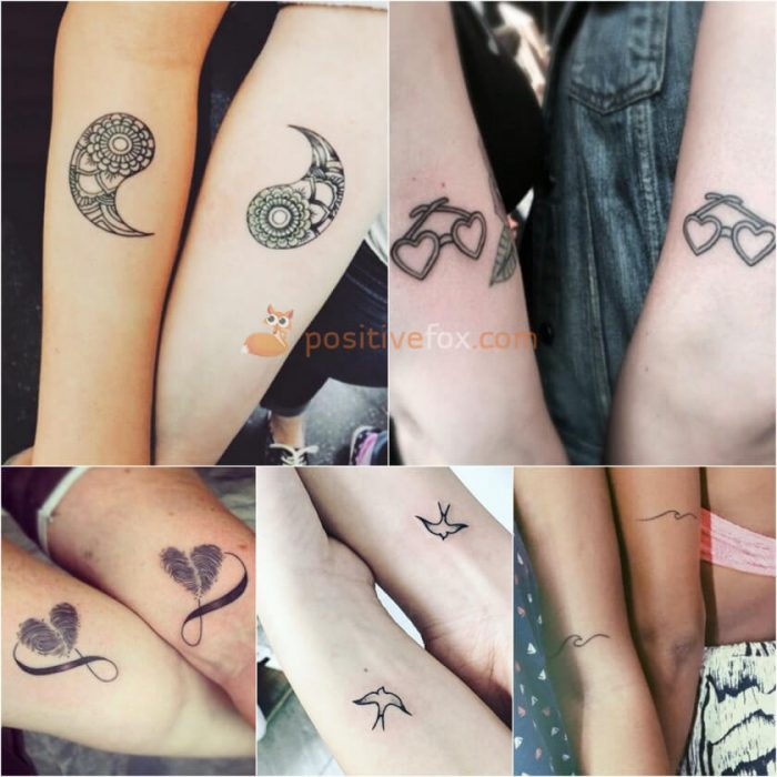 Best friend tattoos best friend tattoo ideas with photos for Tattoos for best friends with meaning