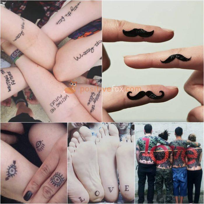 Best Friends Tattoos. Best Friend Tattoo Ideas. Tattoos for Three Friends