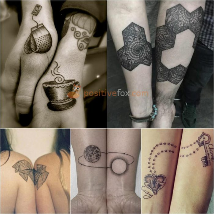 Best Friends Tattoos. Best Friend Tattoo Ideas. Two Halves of a Whole Tattoos