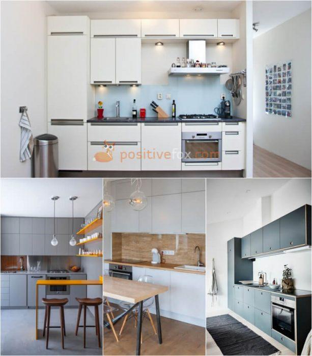 Linear Kitchen Layout