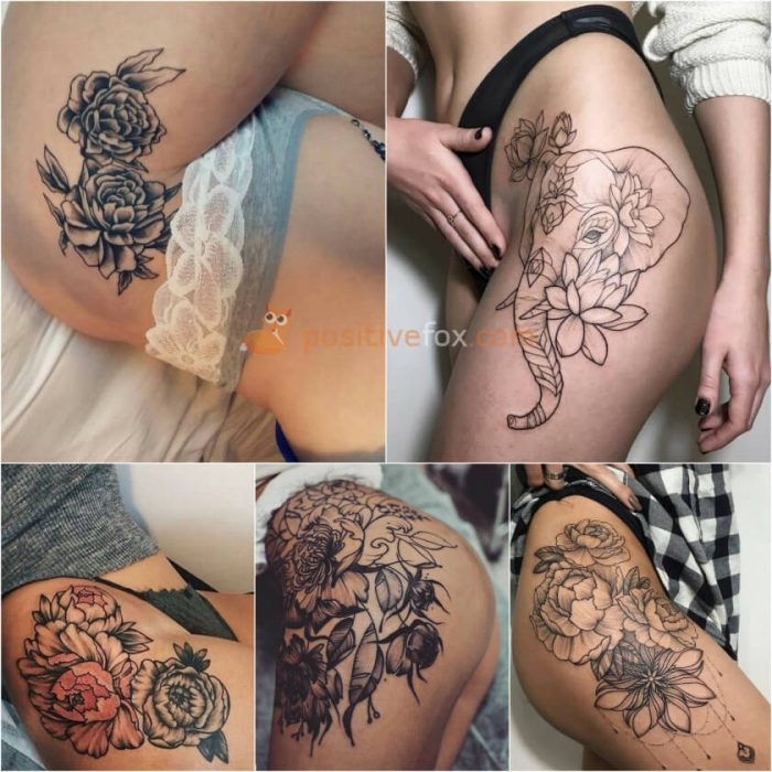 Thigh Tattoos. Thigh Tattoo Ideas